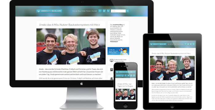 Das neue JimdoWatchBlog